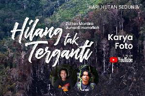 Dua Fotografer Lingkungan Pamerkan Potret Hutan Aceh Satu Dekade Terakhir