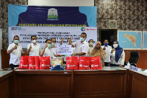 Dinsos Aceh Terima 400 Paket Sembako