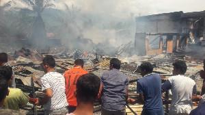 Enam Rumah Terbakar di Aceh Tenggara