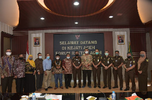 Forum Rektor Apresiasi Kinerja Kejati Aceh