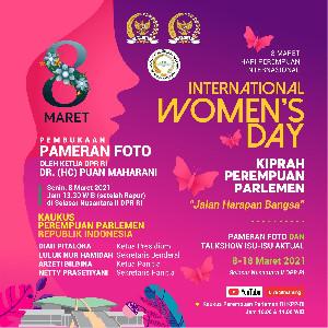 Hari Perempuan Internasional 2021: Perempuan Parlemen RI Gelar Pameran Foto dan Diskusi