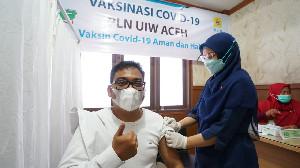 Ratusan Pegawai PLN Grup di Aceh Jalani Vaksinasi