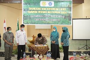 Dukung Pertanian Organik, TP-PKK Aceh dan Maporina Teken MoU