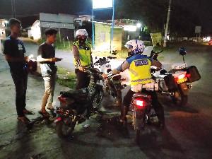 Razia Knalpot Brong Seluruh Aceh