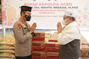 Kapolda Aceh Minta Dukungan Ulama