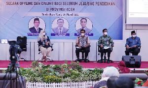 Disdik Aceh Fasilitasi KPK Bahas Pendidikan Antikorupsi
