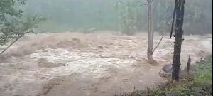 Krueng Pudeng Meluap, Sejumlah Gampong di Aceh Besar Diterjang Banjir