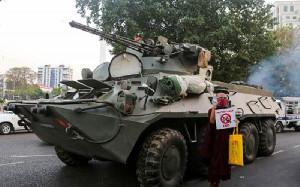 18 Orang Tewas Ditembak, Myanmar Seperti Perang
