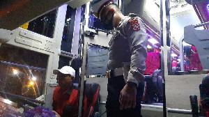 Dirlantas Polda Aceh Lakukan Pembinaan kepada Supir Bus