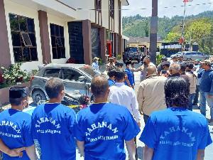 Polres Aceh Tengah Tangkap 9 Mafia Sabu, 3 Ons Diamankan