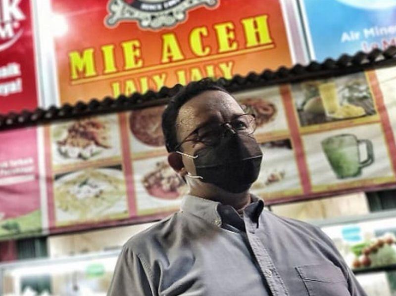 """Lidah Anies Baswedan """"Tersengat """"Mi Aceh"""