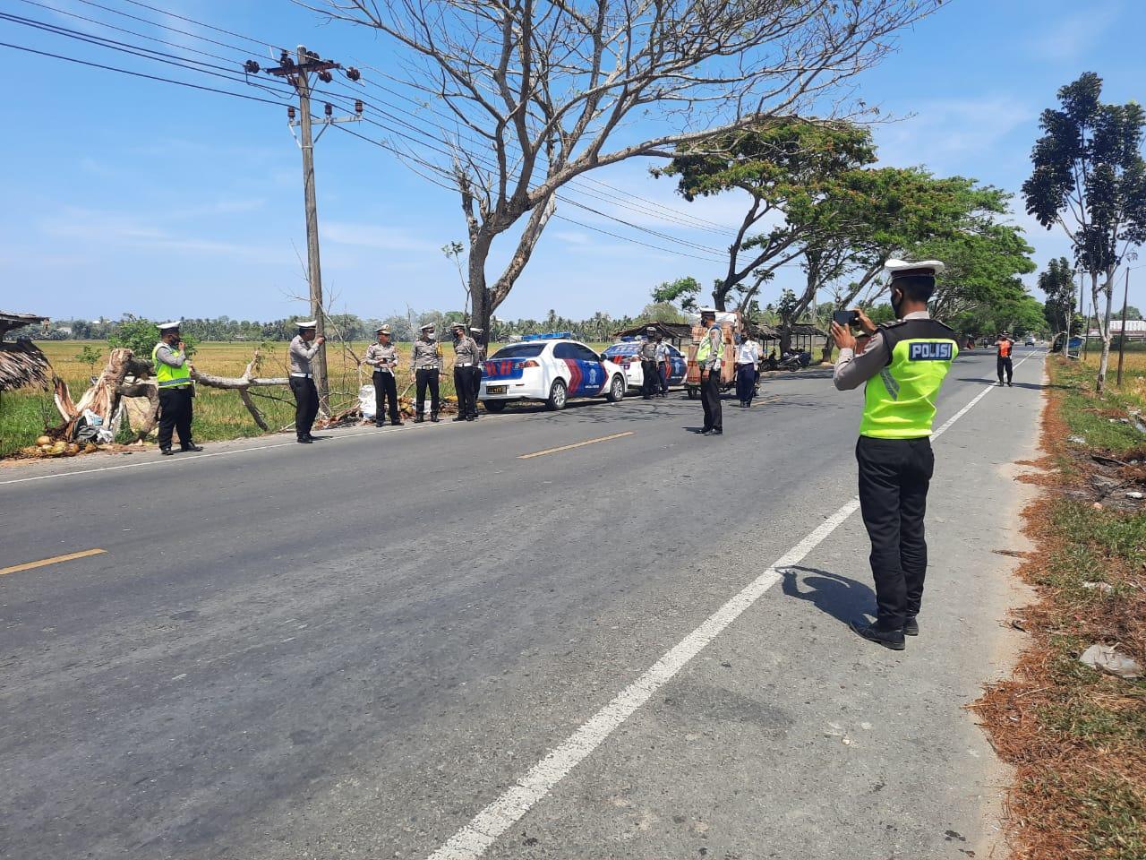 Ditlantas Polda Aceh Tingkatkan Penjagaan di Jalan Jelang Libur Nasional