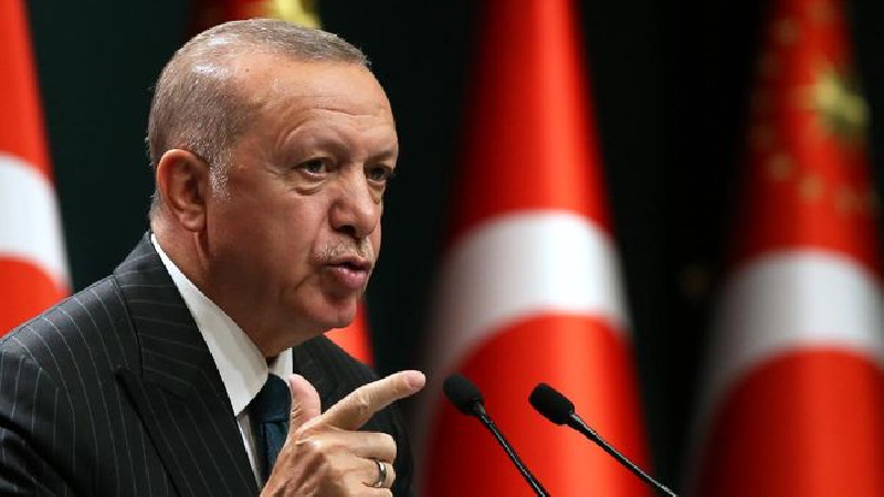 lira anjlok, Erdogan Pecat Kepala Bank Sentral