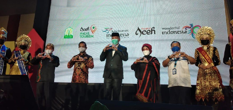 Gubernur Aceh: CoE Aceh 2021 Momentum Pariwisata Aceh Untuk Bangkit