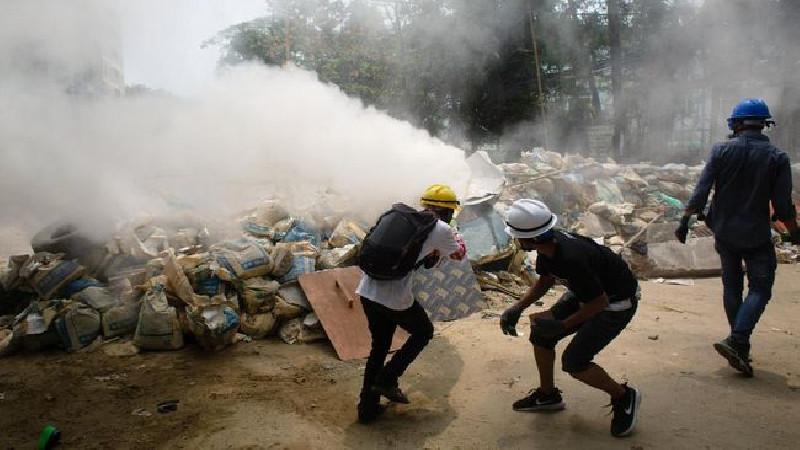 261 Orang Dilaporkan Tewas sejak Kudeta, Myanmar Semakin Mencekam