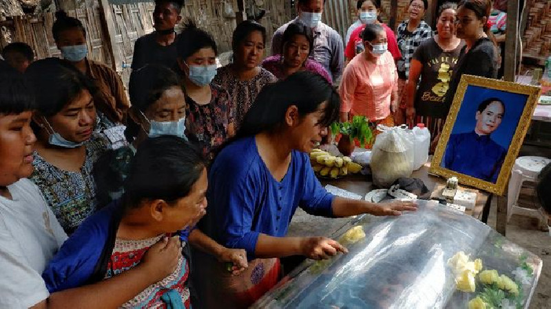 Gejolak Stabilitas Myanmar, Jatuh Korban 114 Pedemo Termasuk Anak-anak