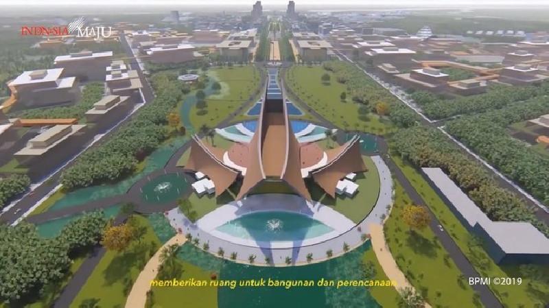 Begini Penampakan Istana Baru Jokowi di Ibu Kota Baru