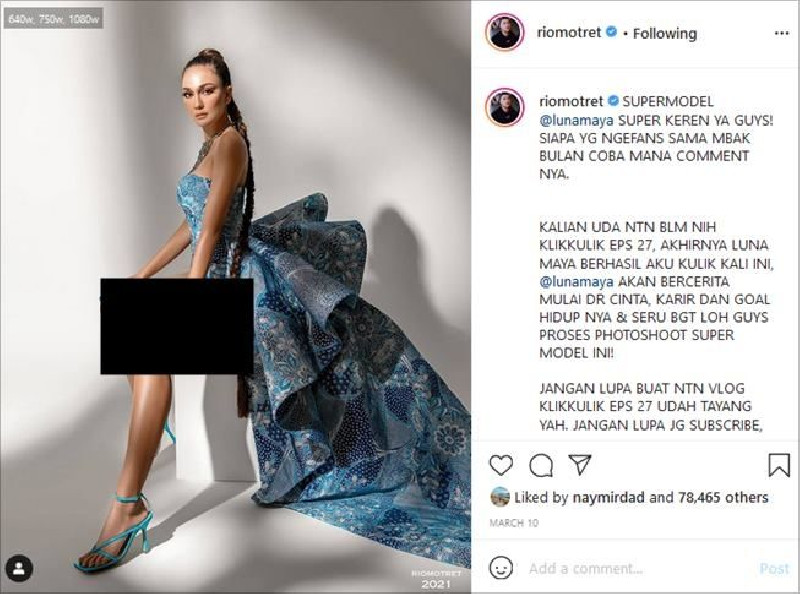 Terungkap Baju Luna Maya, Berhias Benang Emas Harganya Rp 85 Juta
