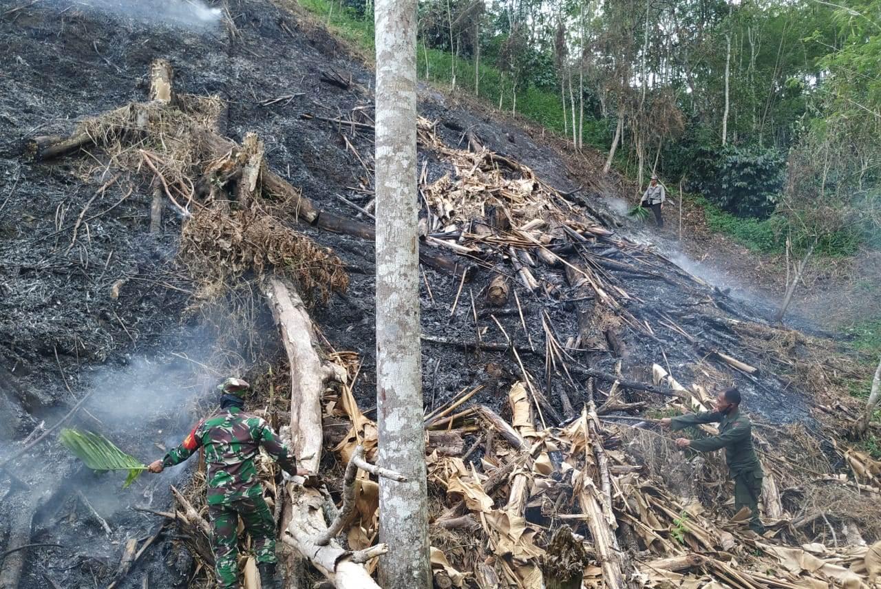 Dandim 0106 Aceh Tengah : Jangan Bakar Lahan Saat Mengolah Kebun