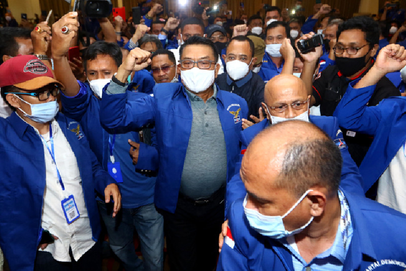 Jokowi Diminta Respons Kisruh Partai Demokrat