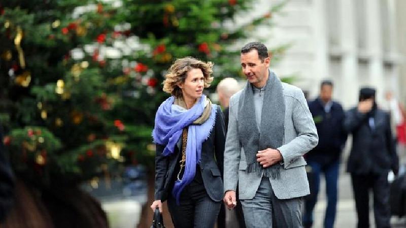 Virus Covid-19 Menyerang Presiden Suriah Bashar al-Assad dan Istri