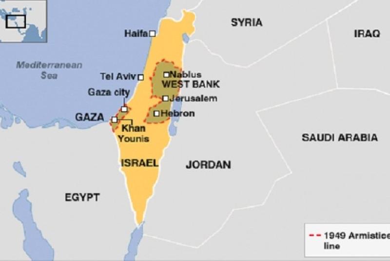 Wilayah Palestina Dicaplok Israel Sebesar  85 Persen