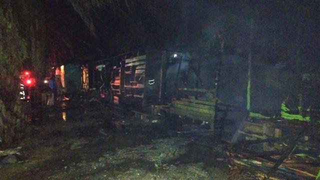 Pesantren Serambi Mekkah Kabupaten Aceh Barat Kembali Terbakar