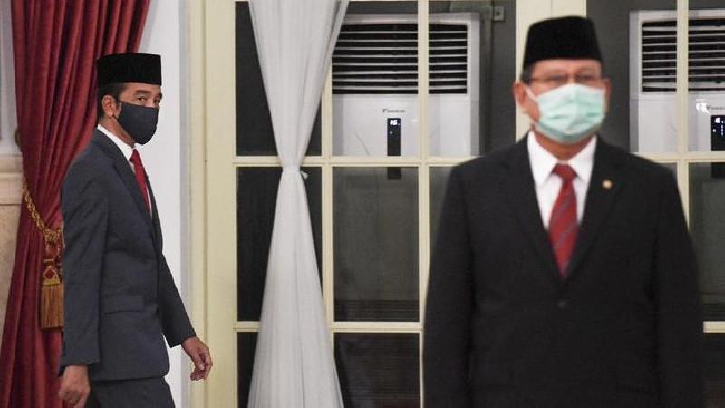 Jokowi Janjikan Rumah Untuk Keluarga Awak KRI Nanggala-402