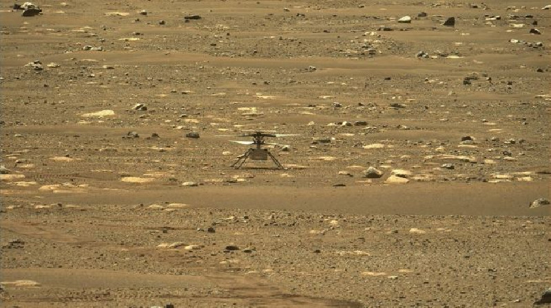 NASA Sukses Terbangkan Helikopter di Mars