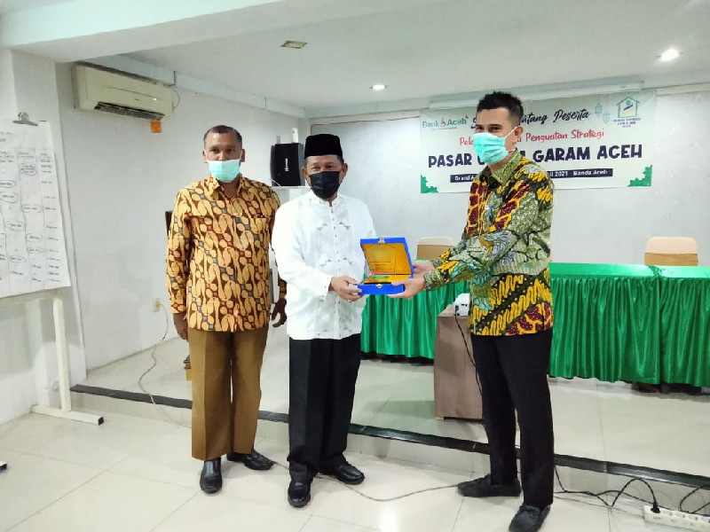 Pemkot Banda Aceh Buka Pelatihan Penguatan Strategi Pasar Usaha Garam