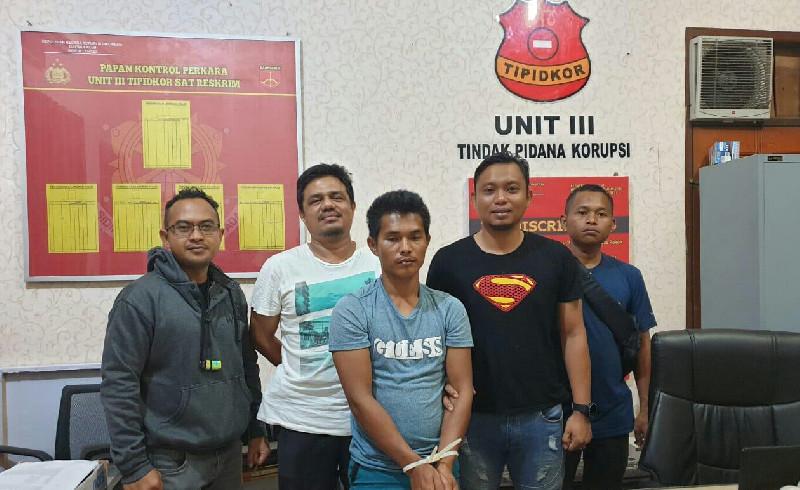 Mantan Kades di Aceh Tamiang, DPO Kasus Dugaan Korupsi ADD Diringkus Polisi