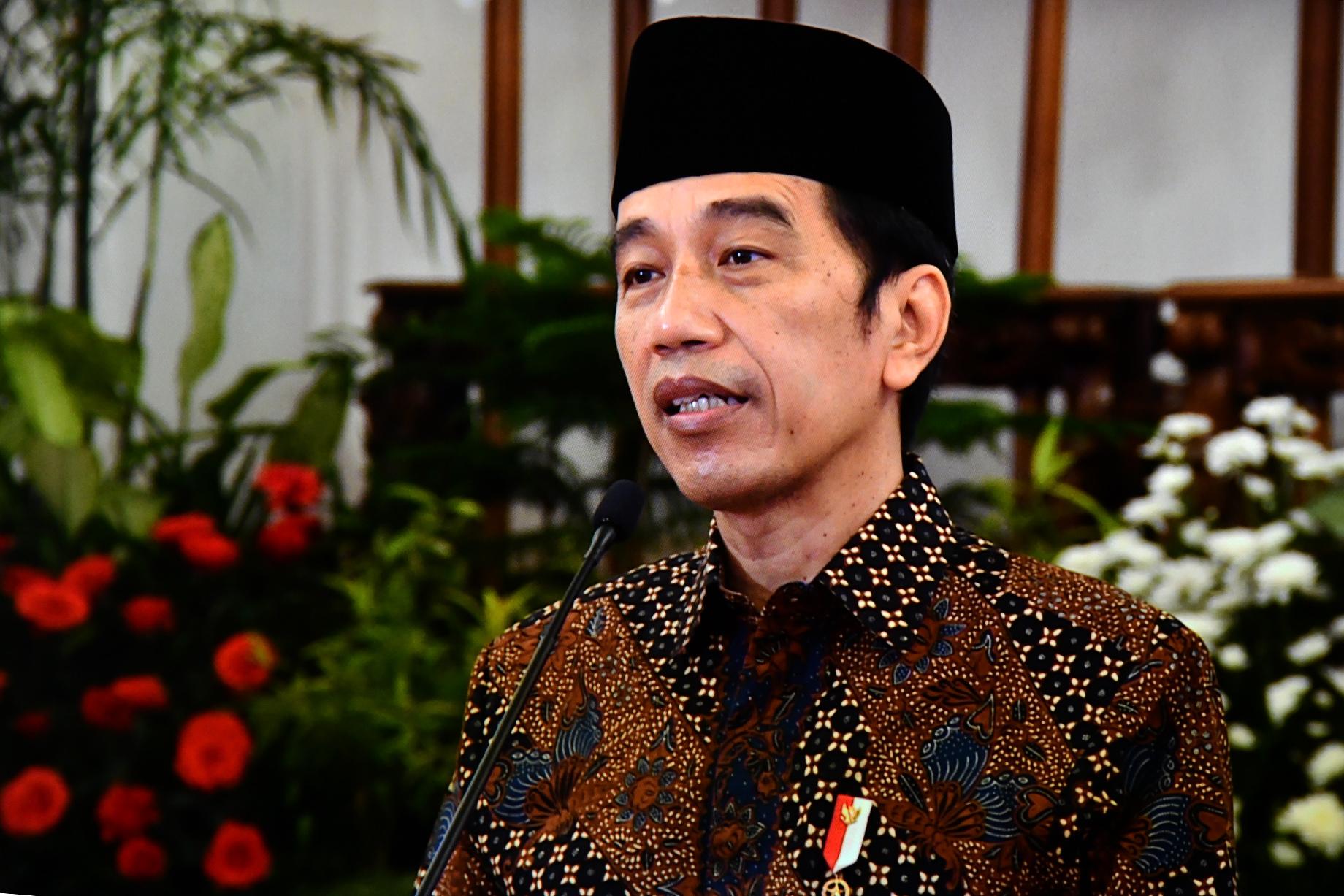 Ini Empat Pesan  Jokowi untuk Tingkatkan Moderasi Beragama