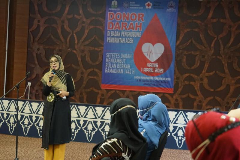 BPPA Gelar Donor Darah, Dyah Erti: Momentum Terbaik di Masa Pandemi