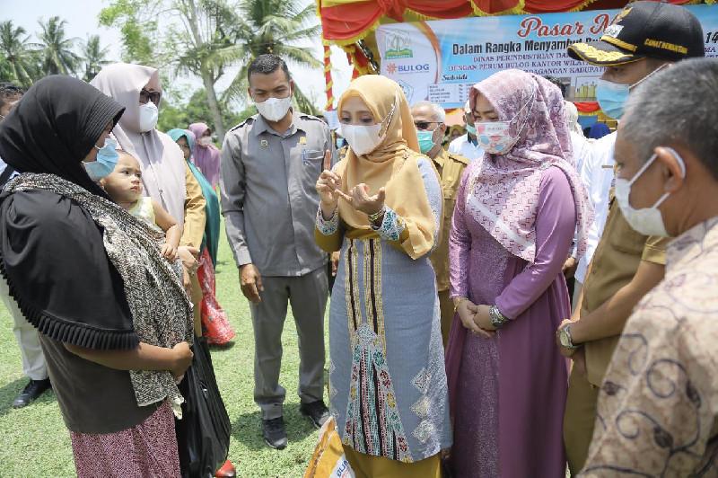 Ketua Dekranasda Aceh: Pasar Murah harus Tepat Sasaran