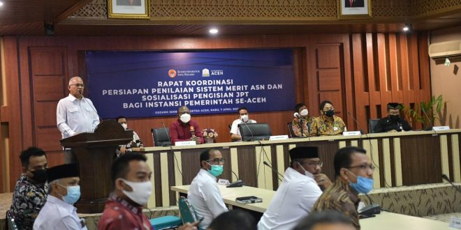 Sekda Aceh Komit Terapkan Sistem Merit di Pemerintah Aceh