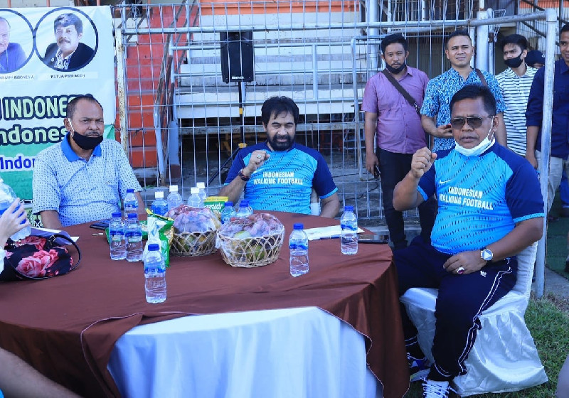 Aminullah Diundang Perkuat Tim Walking Football Aceh Wakili Indonesia ke Swedia