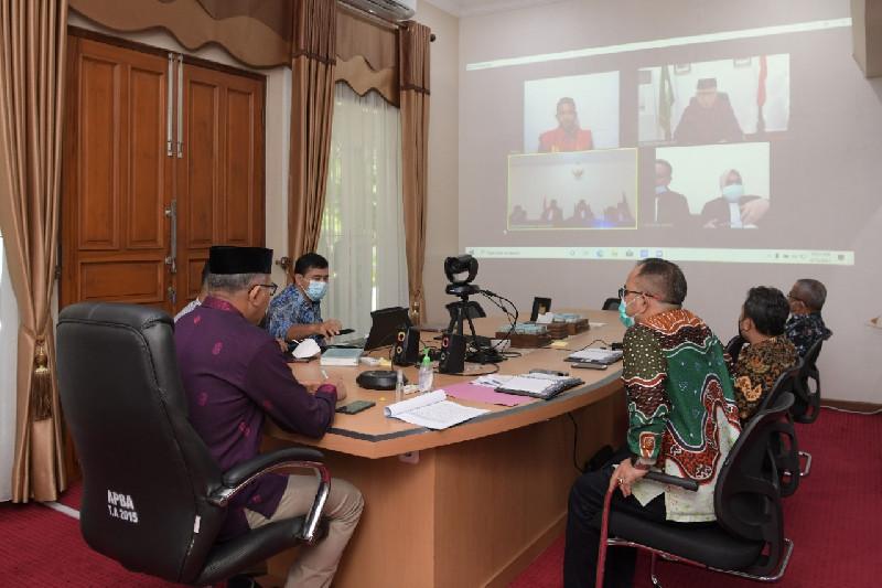 Gubernur Aceh Hadir Jadi Saksi di Persidangan Terdakwa Abu Malaya