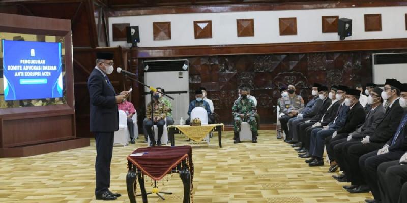 Komite Advokasi Daerah Anti Korupsi, Komitmen Kerjasama agar Bebas Korupsi di Aceh