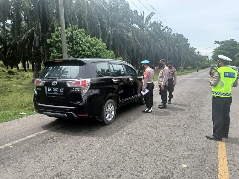 Polres Aceh Tamiang Perketat Perbatasan Aceh – Sumut