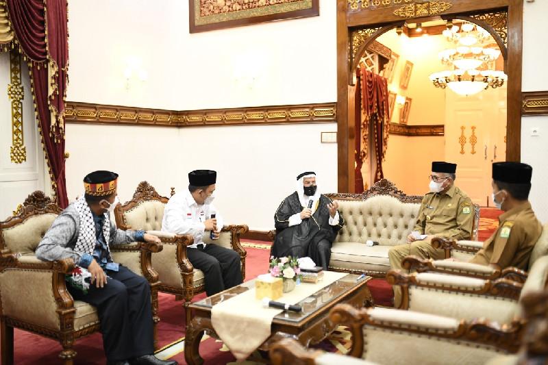 Gubernur Nova: Rakyat Aceh Dukung Palestina Bebas dari Israel