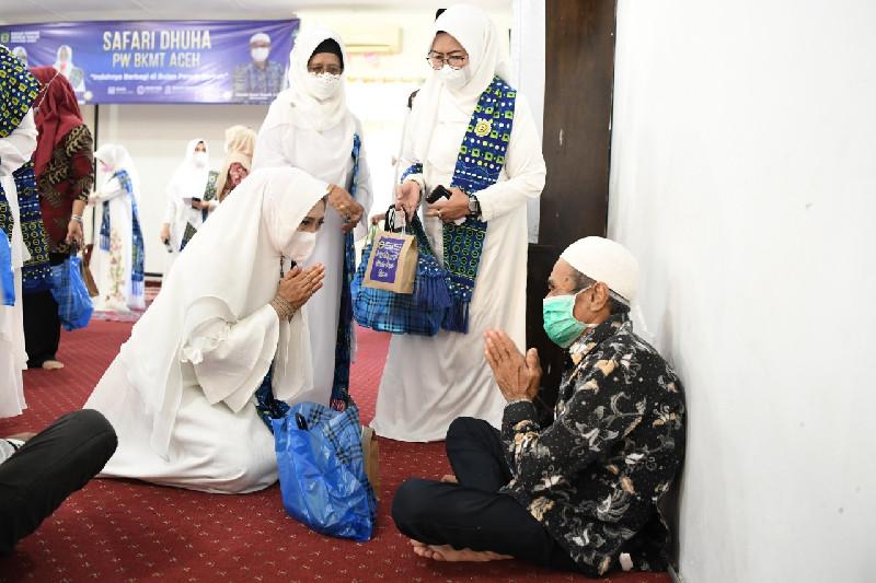 Safari Dhuha, BKMT Aceh Silaturahmi ke Rumoh Seujahtera Geunaseh Sayang