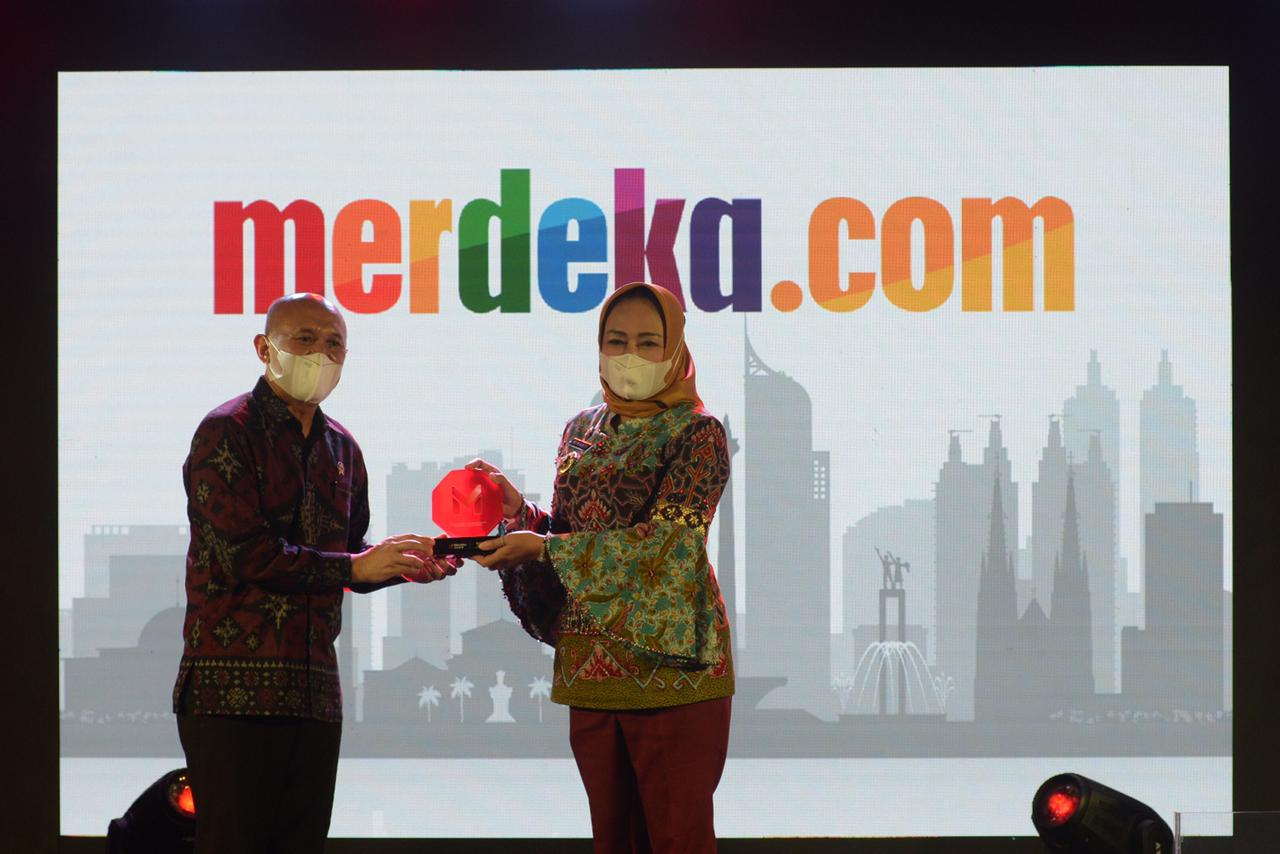 Merdeka.com Gelar Merdeka Award 2021, Inspirasi di Tengah Pandemi