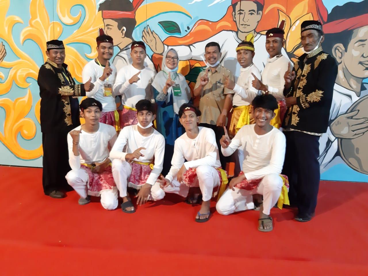 Grup Seudati Rumoeh Indatu Aceh Besar Raih Juara III festival Seudati Disbudpar Aceh