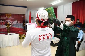34 Narapidana Terorisme Ucapkan Ikrar Setia NKRI