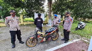 Polisi Amankan 29 Sepeda Motor Karena Balap Liar di Aceh Utara