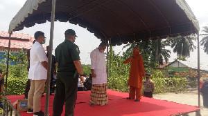 Langgar Syariat Islam, Oknum PNS di Aceh Tamiang Dicambuk 100 Kali