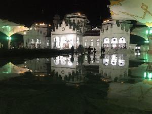 Malam Kedua, Jamaah Tarawih di Masjid Raya Baiturahman Turun Drastis