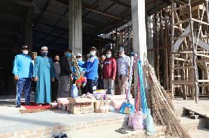 Sambut Ramadan, Dinas Dayah Gencarkan BEREH Masjid di Aceh Tamiang