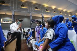 Menko PMK Kunjungi Rumah Keluarga Kru Kapal Selam Nanggala 402