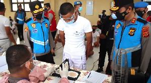 Kapolda Aceh Cek Pelaksanaan Rikkes 180 Calon Bintara Polri Di RS Bhayangkara